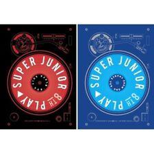 Super Junior - [Play] 8th Album 2 Ver SET CD+Poster+Booklet+Card K-POP Sealed