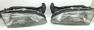 Toyota Paseo Headlight Right Left Headlamp 92 93 94 95 Passenger Driver Pair oem