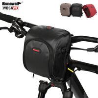 Waterproof folding Bike Front bag Bicycle Handlebar Bags Frame Tube+rain cover