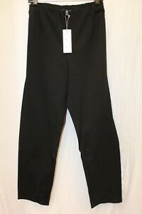 NWT Eileen Fisher Silk Georgette Crepe Slouchy Ankle Pant Black Pants XXL