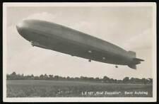 644984) Zeppelin AK LZ 127 Graf Zeppelin beim Aufstieg