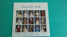 American Dolls Issue Stamp Sheet of 15 3151 Mint.#