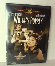 Where's Poppa 1970  Ruth Gordon George Segal 2002 DVD