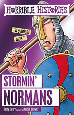 HORRIBLE HISTORIES: STORMIN' NORMANS  by Terry Deary  NEW