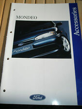 Ford Mondeo Accessories brochure Feb 1993