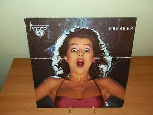 ACCEPT BREAKER 1981 LP VINILE USATO SICURO