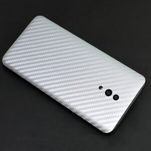 Back Cover For OnePlus LG Meizu Carbon Fiber Protective Film Screen Protector
