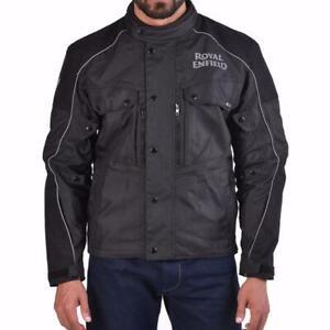 Royal Enfield Safari Touring Jacket Black Regular Fit Size Medium