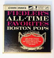 Fiedler's All Time Favorites Boston Pops Orchestra Reel to Reel