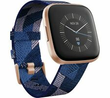 FITBIT Versa 2 Special Edition with Amazon Alexa - Woven Strap Navy & Pink