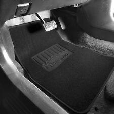 4pcs Carpet Floor Mats for Auto Car SUV Van Universal Fitment Black
