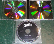 Wale: Chillin PROMO CD RARE Featuring LADY GAGA + 2GAGA promo cd's Lot of 3 LOOK