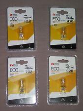 1 une Ampoule G9Halogène Lampe Blanc Chaud 30W ou 40W ou 60W OU 75 W Transparen