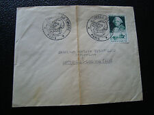 FRANCE - enveloppe 1er jour 26/3/1949 (journee du timbre) (cy22) french (pliure)
