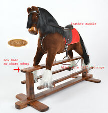 MEW MAGNUM Handmade Brand New LARGE Rocking Horse MADE IN EUROPE from ALANEL