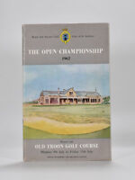 The Royal / Open Championship 1962 Official Programme