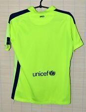 BARCELONA 2014/2015 AWAY FOOTBALL SHIRT JERSEY NIKE SIZE XL KIDS