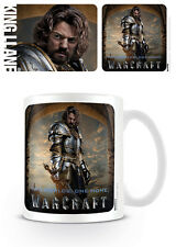 WORLD OF WARCRAFT KING LLANE CERAMIC MUG OFFICIAL 11OZ BOXED NEW CERAMIC