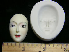 Face Polymer Clay Mold Square Shape #MD1482