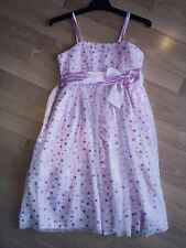 Girls Victoria Rose Dress - Pink - Size 8- Like New!