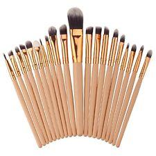 20PCS MakeUp Foundation Eyebrow Eyeliner Eye Shadow Blush Cosmetic Brushes