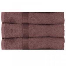 Juego de toallas de baño y albornoces color principal marrón con toalla de baño