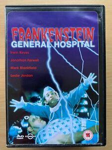 Frankenstein Allgemeine Hospital DVD 1988 Kult Horror Komödie W / Leslie Jordan