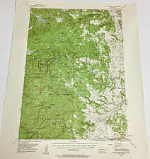 New Listing Mount Rushmore South Dakota 1954 Edition Topographical Map 15 Minute Series