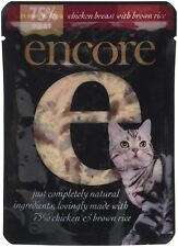Encore Cat Food Chicken & Brown Rice Pouch 70g (Pack of 16)