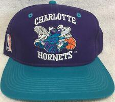 Charlotte Hornets Vintage Sports Specialties Snapback Hat - NWOT Purple NBA