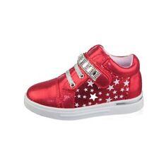 Chaussures rouges en synthétique pour fille de 2 à 16 ans pointure 30