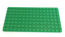 LEGO Bright Green Baseplate Base Plate Part # 3865 Single Piece Construction Toy