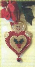Gingerbread Heart Ornament quilt pattern by Cathy Wagner Cath's Pennies Designs