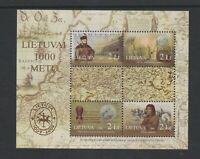 Lithuania - 2006, Lithuanian Millenary, 6th series sheet - MNH - SG 886/9