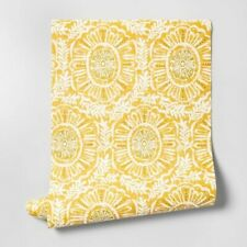 ONE Opalhouse MADRE MEDALLION YELLOWGOLD IHAVE11 Peel/Stick Removable Wallpaper