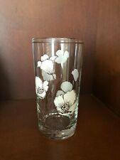 Noritake DESERT FLOWERS 5.5''  Drinking Glass Mexican Poppy