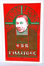 1966 BG-35(19)? Muddy Waters at the Fillmore by Bill Graham in Great Condition