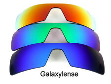 Galaxy Replacement Lenses For Oakley Oil Rig Blue&Green&Red Polarized 3Pair