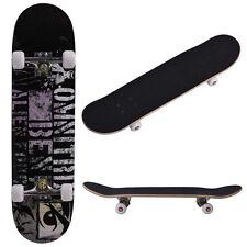 "31"" x 8"" Professional Adult Maple Deck Skateboard Complete Wheel Trucks  Wood"