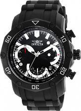 Invicta Hombres Pro Diver 100m Cronógrafo Esfera Negra / Reloj De Pulsera 22799