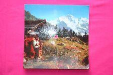 Rare Carte Postale Musical Disque 33T Swiss Hit / Jungfrau suisse