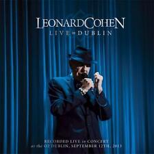 LEONARD COHEN LIVE IN DUBLIN 3 CD DIGIPAK NEW