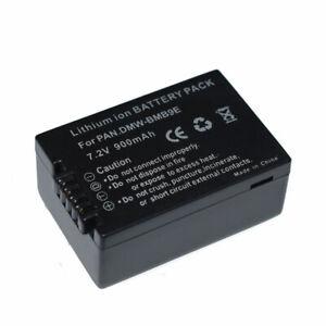 DMW-BMB9E Battery for Panasonic Lumix DMC-FZ40 FZ45 FZ150 FZ100 FZ47 Camera BMB9