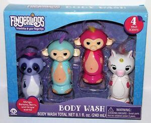 Disney Fingerlings Body Wash Gift Set, 4 pc, 8.1 fl oz - 4 Wild Scents