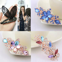 Crystal Rhinestone Hairpin Hair Barrette Hair Clips Headwear Hair Accessories