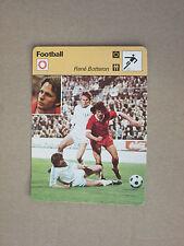 FICHE CHAMPION FOOTBALL  BOTTERON  FC  ZURICH  1978  SUISSE SWITZERLAND