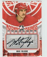 2012-13 ITG MOTOWN MADNESS Mike Foligno AUTOGRAPH CARD SIGNED