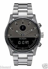 Nixon Original Duo A932-131 Gunmetal 46mm Watch