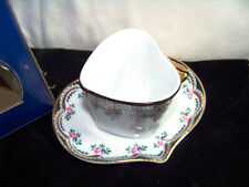 Vintage Cape Craftsmen Inc. Collectable Sweetheart Demi Cup and Saucer New
