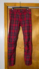 Comme Des Garcons Homme Plus Plaid Punk Pants
